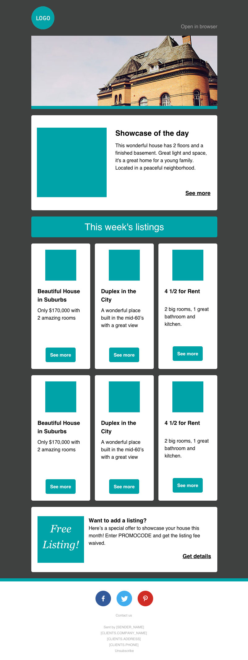 newsletter template engine
